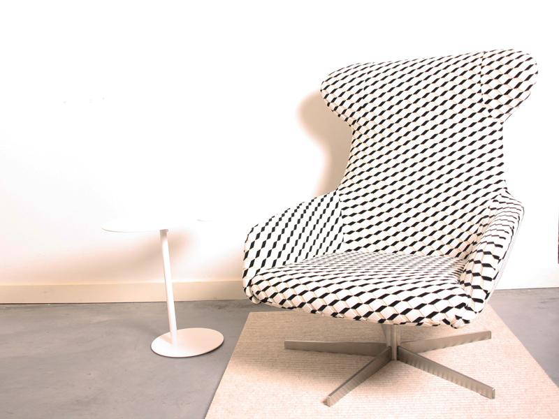 Draai fauteuil 'Reader' Living Divani