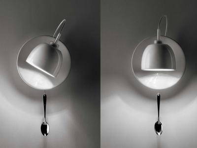 Wandlamp 'Light au lait'